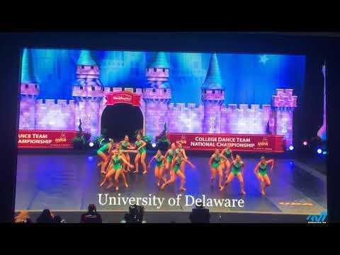 University of Delaware Dance Team Jazz NATIONAL CHAMPIONS 2018