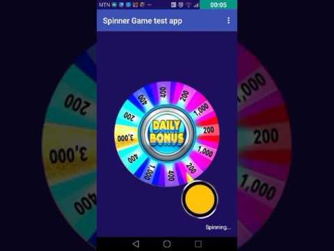 Spinner game github