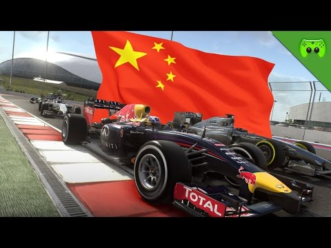 F1 2015 # 03 - GP von China 1/2 «» Let's Play F1 2015 PS4   60 FPS
