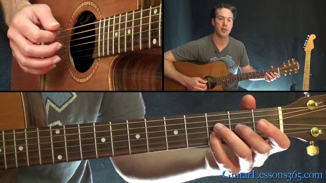 Losing my religion guitar chords lesson rem youtube hexwebz Images
