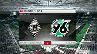 Fifa 16 - borussia mönchengladbach vs. hannover 96 @ borussia-park