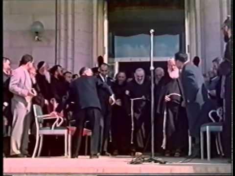 5 maggio 1956 inaugurazione di casa sollievo della for Casa maggio