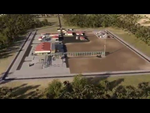 Onshore Receiving Facilities - Ghana | Eni Video Channel
