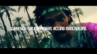 Flatbush Zombies - Palm Trees [ LYRICS ] [ Video ]