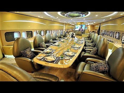 10 Most Insane Celebrity Aircraft