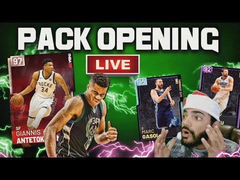 Pink Diamond Giannis Antetokounmpo PACK OPENING! Nba 2k19 Myteam LIVE with DCENTRIC thumbnail