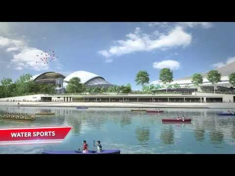 Singapore Sports Hub Fly-through