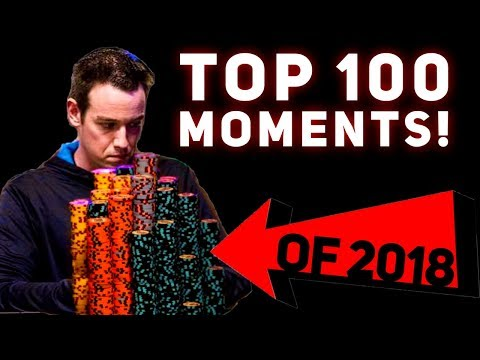 The TOP 100 Moments of 2018!