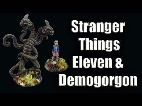 Good Miniature Monday! Stranger Things Miniatures With Custom Eleven
