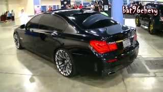 BMW F01  750Li DROPPED on 22 Forgiatos  1080p HD