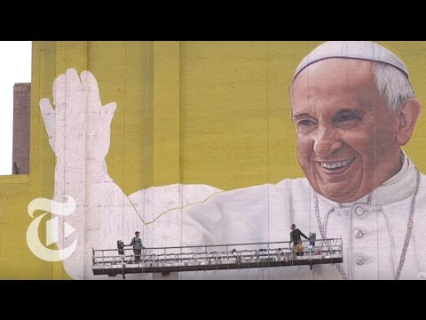 A Skyscraper-Size Pope Francis | The New York Times