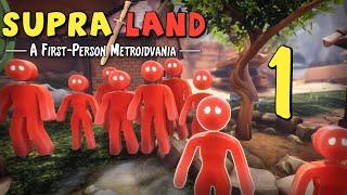 Supraland - Прохождение игры на русском - Мы не уйдём со стартовой локации [#1] | PC