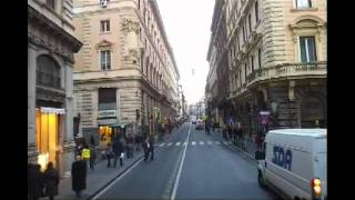 Tour Bus in Rome, Italy 2012