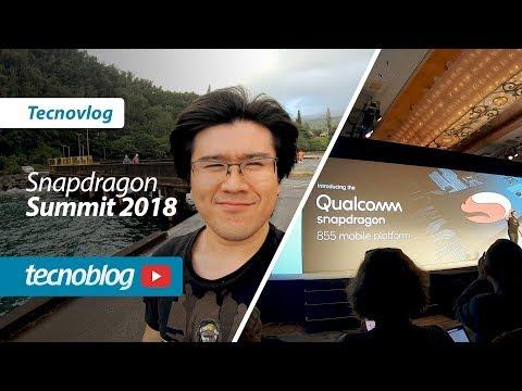 Bastidores Snapdragon 855, 8cx e 5G no Havaí - Tecnovlog