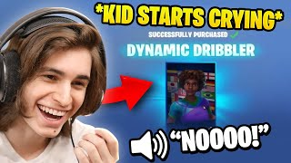 Reacting To Kids ACCIDENTALLY Buying Fortnite Skins 😭