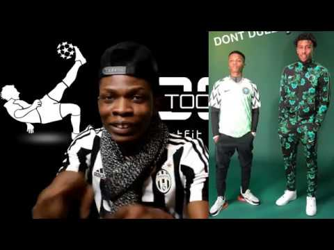 a24b1e482ca Nigerians Reaction to the new Super Eagles World Cup Kit. Wizkid ...