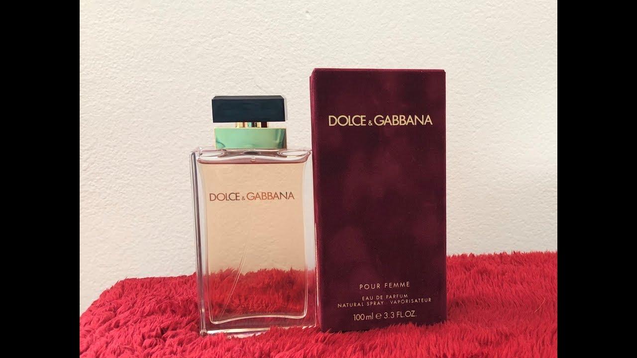 Dolce   Gabbana Pour Femme Eau de Parfum Spray Review - YouTube a90a48eebecd