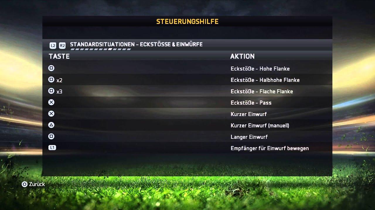 Steuerung Fifa 18