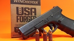 Winchester USA Forged Ammo - Three Gun Test- Glock - S&W - Ruger