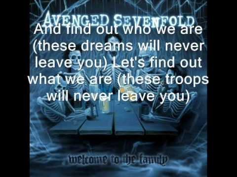 Avenged Sevenfold - 4 AM + lyrics