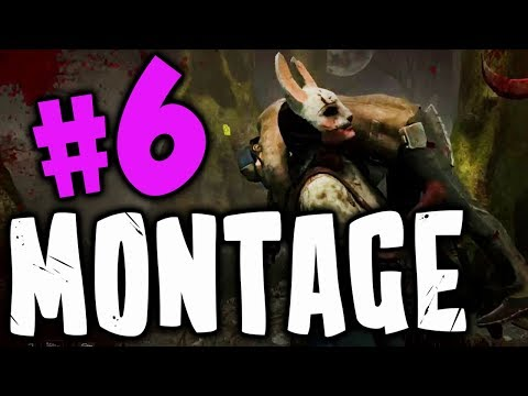 Dead By Daylight Funny Random Moments Montage 6