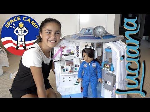 Luciana's Mars Habitat - American Girl   Grace's Room
