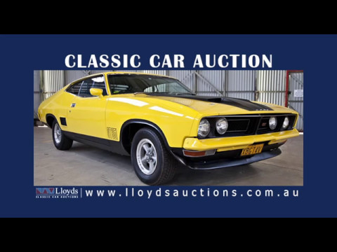Lloyds Classic Car Auction in Sydney, 13th May 2017