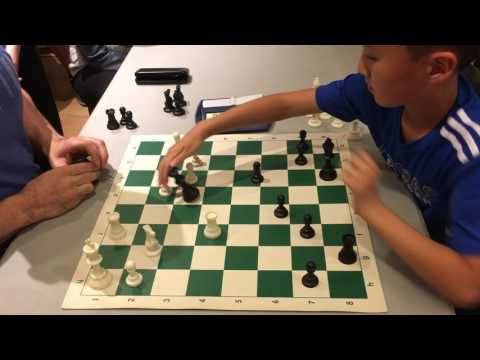 10 year old chess master vs International Master Greg Shahade