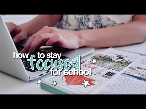 How To Stay FOCUSED For School ☆ Back To School Tips