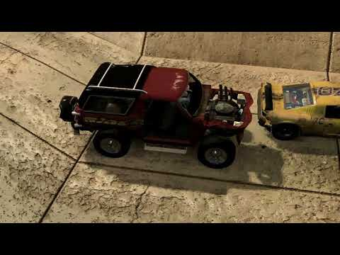 flatout 3 : race with replay 9 with my car of blaster