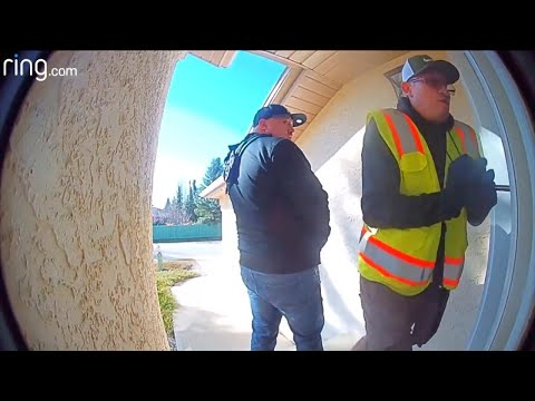 Homeowners Scare Off Would-Be Burglars Through Security Cameras