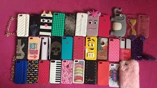 Moje sbírka obalů na iPhone 5/5S / My iPhone 5/5S case collection