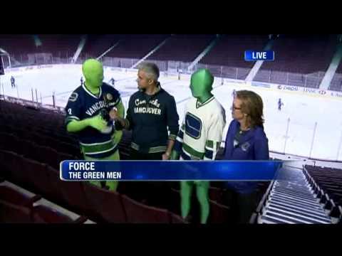 BT Vancouver: Canucks - The Green Men