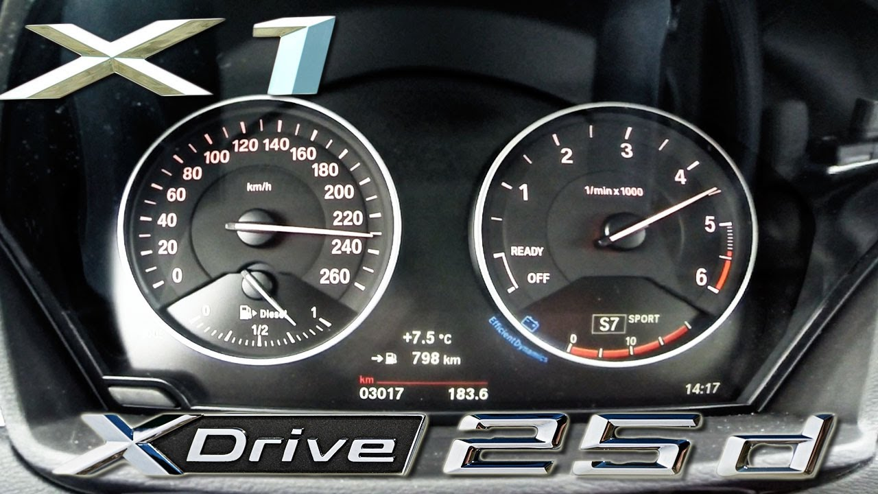 bmw x1 25d xdrive acceleration top speed 231hp 0 238 km. Black Bedroom Furniture Sets. Home Design Ideas