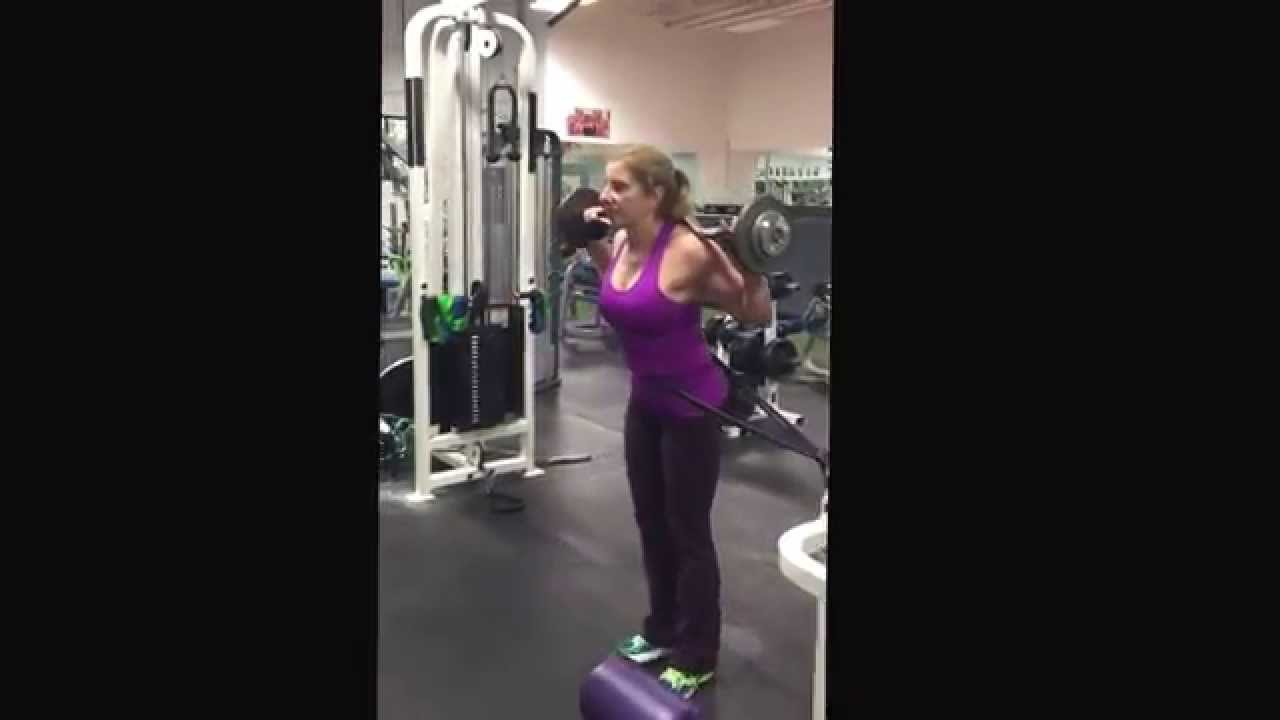 images Resistance Band Exercise: Lateral Lunge
