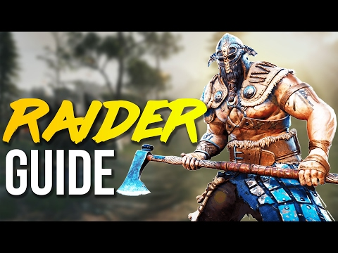 FOR HONOR: Viking Raider Basics Guide! (How To GIT GUD)