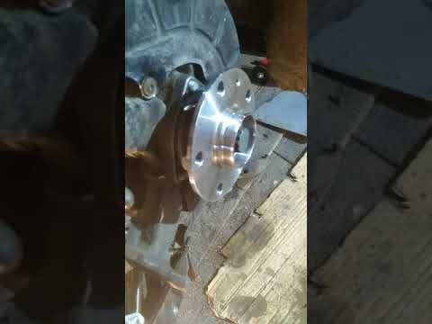 Замена ступицы октавия 1,6 BSE (привет конструкторам VAG)