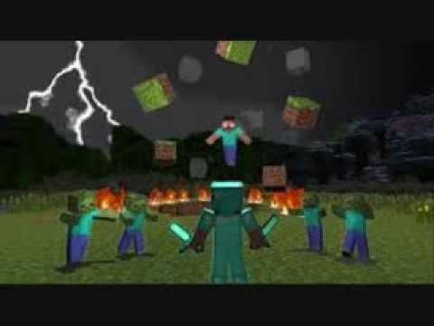 Minecraft Animation Wallpaper Minecraft Herobrine Youtube