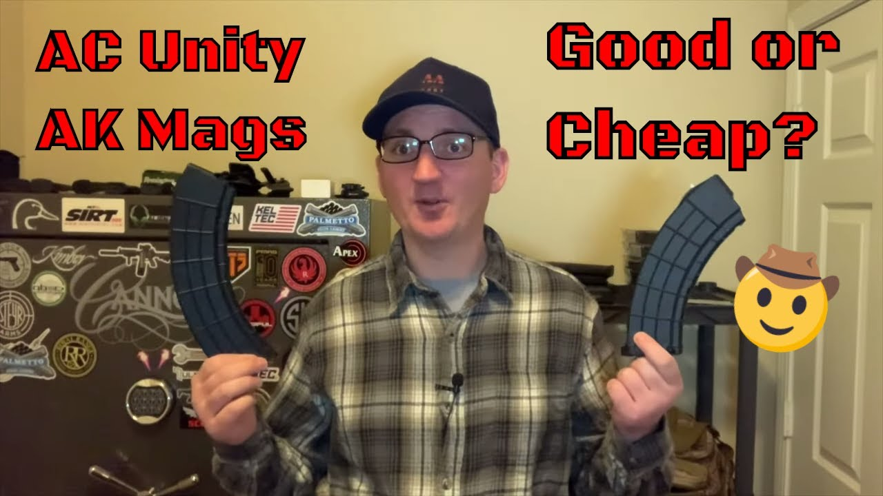 Budget AK Mags from AC Unity - Good or Just Cheap? (2020)