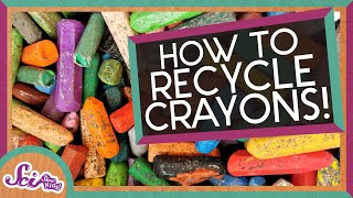 Recycling Old Crayons! An Earth Day Activity