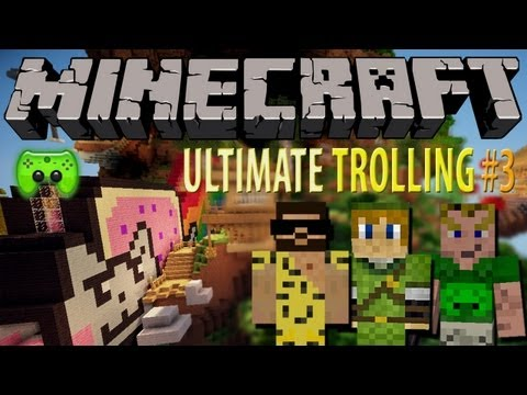 MINECRAFT Adventure Map # 3 - Epic Jump Map: Ultimate Trolling «» Let's Play Minecraft Together | HD