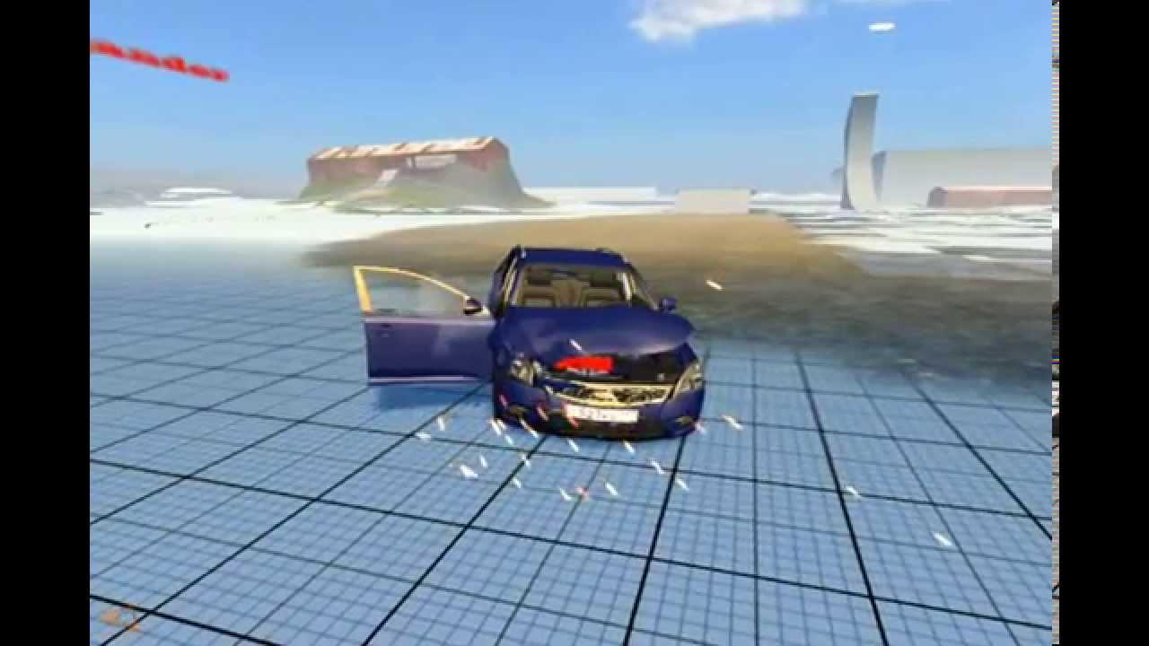 симулятор разбивания машины скачать