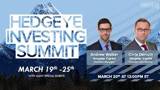 "DeMuth & Walker: ""Value Investing In The 21st Century"" (Hedgeye Investing Summit)"