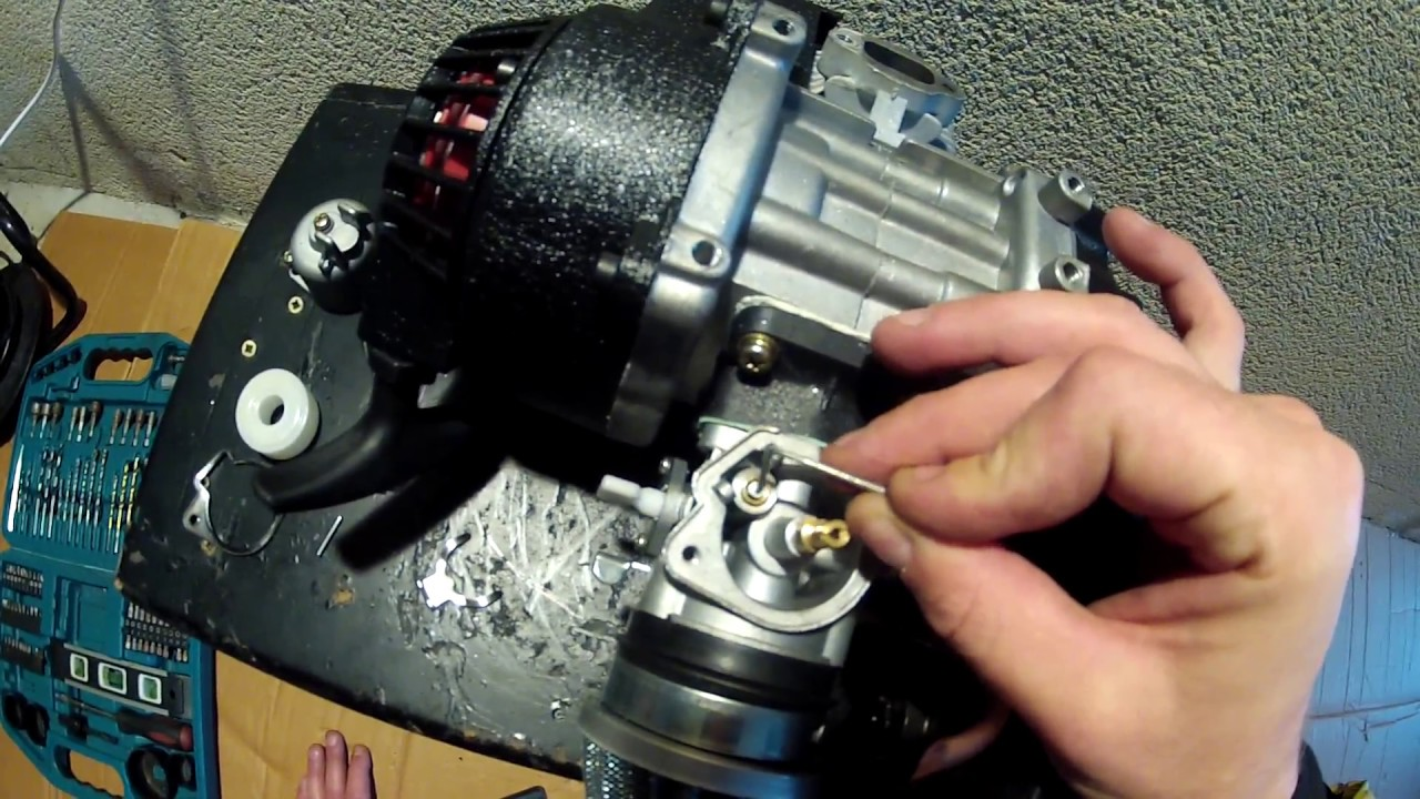 pocketbike carburetor leak - quick fix