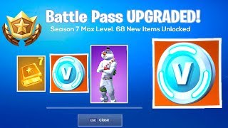 Fortnite SEASON 7 BATTLE PASS! (Fortnite: Battle Royale) *NEW*