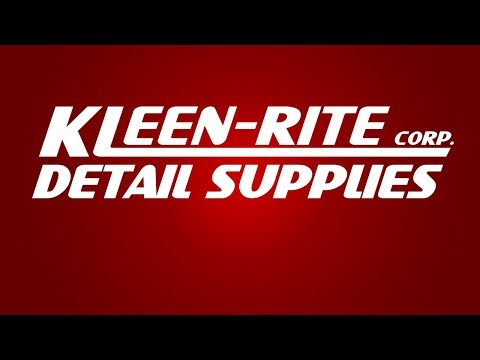 Kleen-Rite Detail Supplies