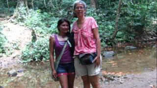 Muestra itinerante en el Rio Caura