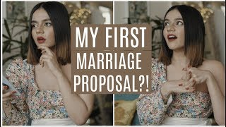 MY FIRST MARRIAGE PROPOSAL? Sharing #MyFirsts | Komal Pandey