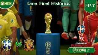 Uma FINAL HISTÓRICA na Copa do Mundo! DLC WORLD CUP. #EP. 07 (XBOX ONE)