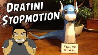 Dratini Papercraft | STOPMOTION por FelipeBlast
